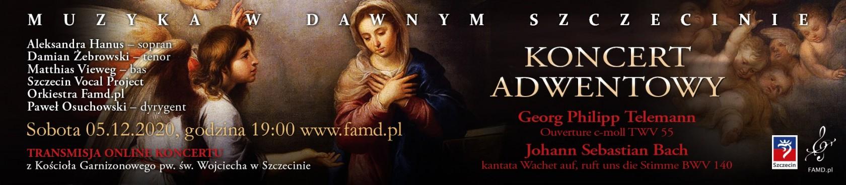 Muzyka w Dawnym Szczecinie - Koncert Adwentowy   online